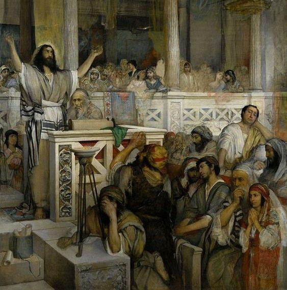 ישוע מלמד